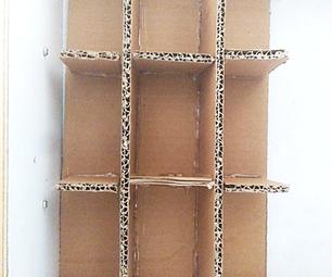 DIY Cardboard Drawer Partition