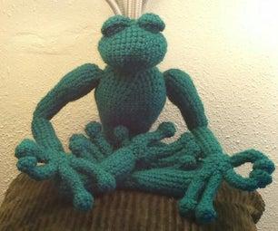 Amigurumi Zen Frog