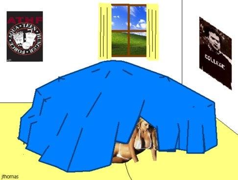 Blanket Fort Construction