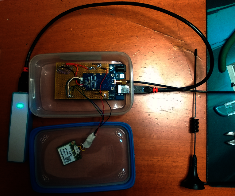 Arduino Project: Test Range LoRa Module RF1276 for GPS Tracking Solution
