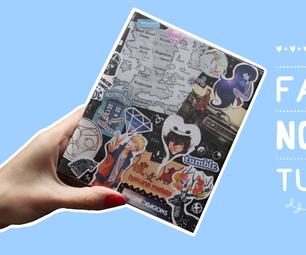 Geek Notebook Video Tutorial - DIY