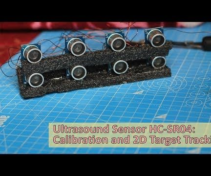 Accurate 2D Tracking Using Multiple HC-SR04 Ultrasound Sensor