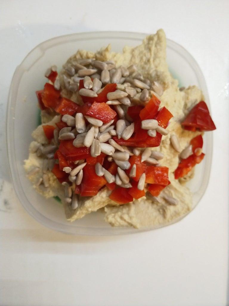 Vegan German Egg Salad Aka Chickpea Dip