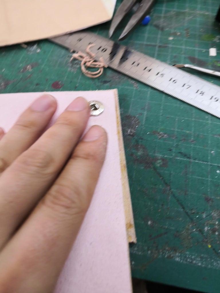 Saddle Stitching Preparation