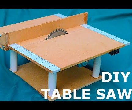 DIY 12v Mini Table Saw