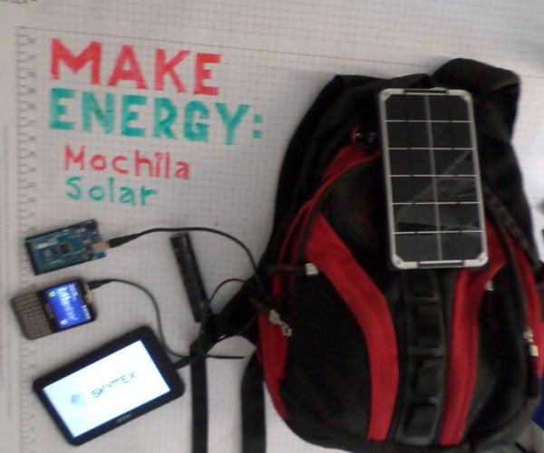 Mochila Solar