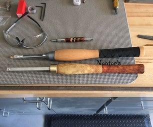 Homemade Carbide Wood Lathe Tool