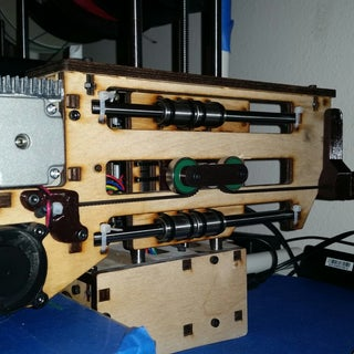 Printrbot Simple Y-axis Belt Driven Upgrade