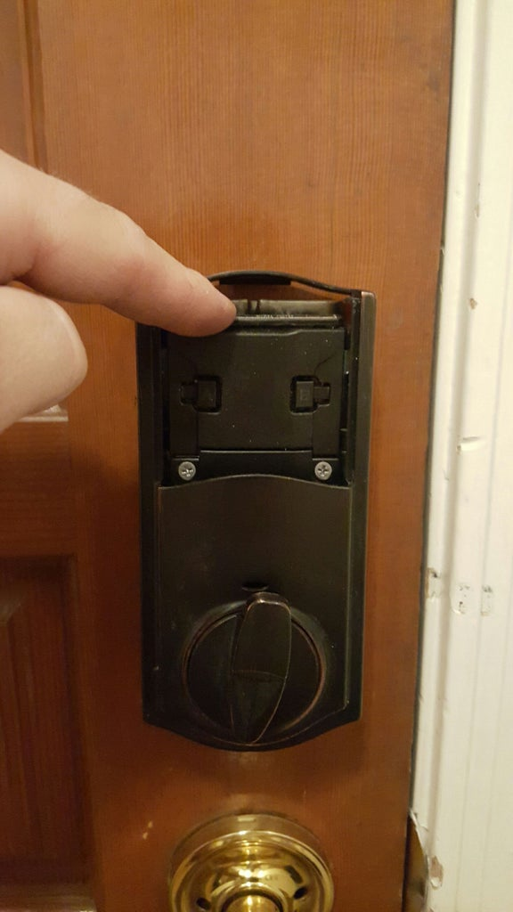 Find Empty Space Inside the Unit for a Switch.