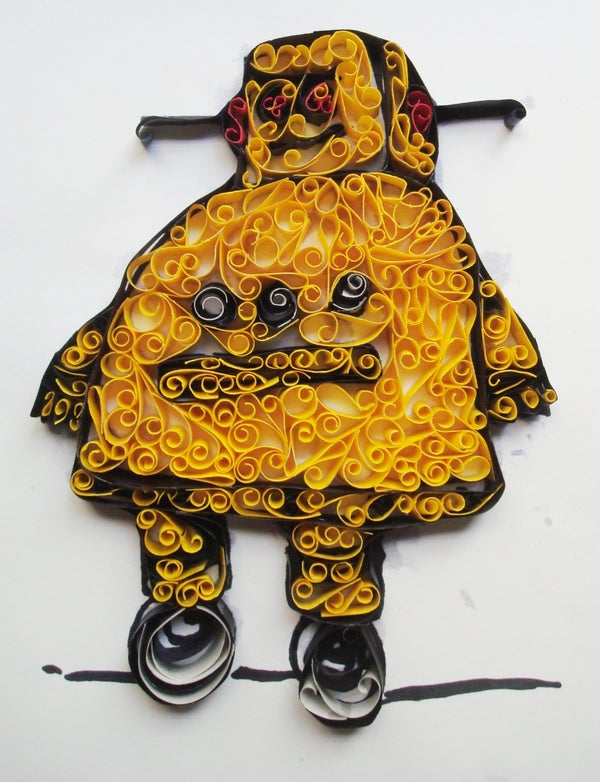 Quilling Robot