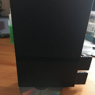 DIY PS2 Slim Vertical Stand