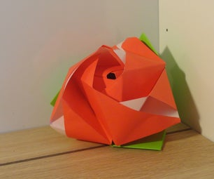 折纸魔幻玫瑰方块