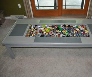 Custom Lego Table