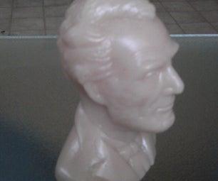 Abraham Lincoln Head Mold