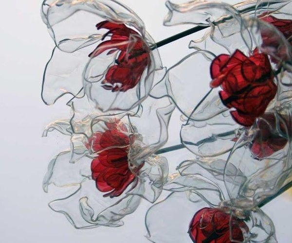 Roses Out of Plastic Bits