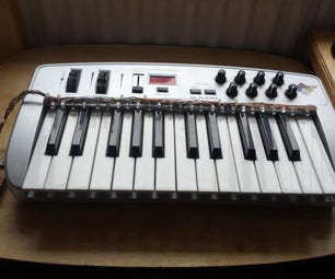 Arduino Keyboard Learning Lights Attachment