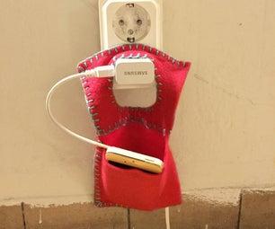 Hanging Phone Pocket