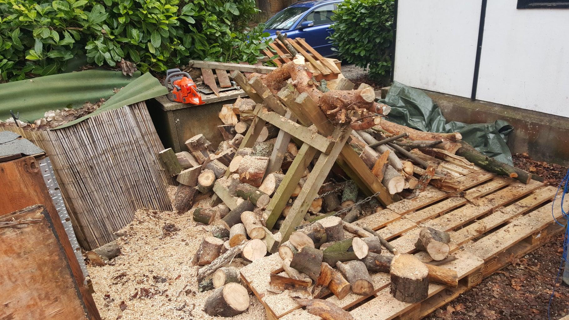 Add Freshly Cut Wood