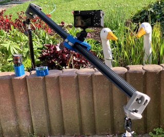 DIY电动摄像机滑块来自四个3D印刷零件