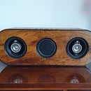Homemade Wooden Bluetooth Speaker