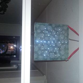 Animated Christmas LED Snowflake Window Decoration