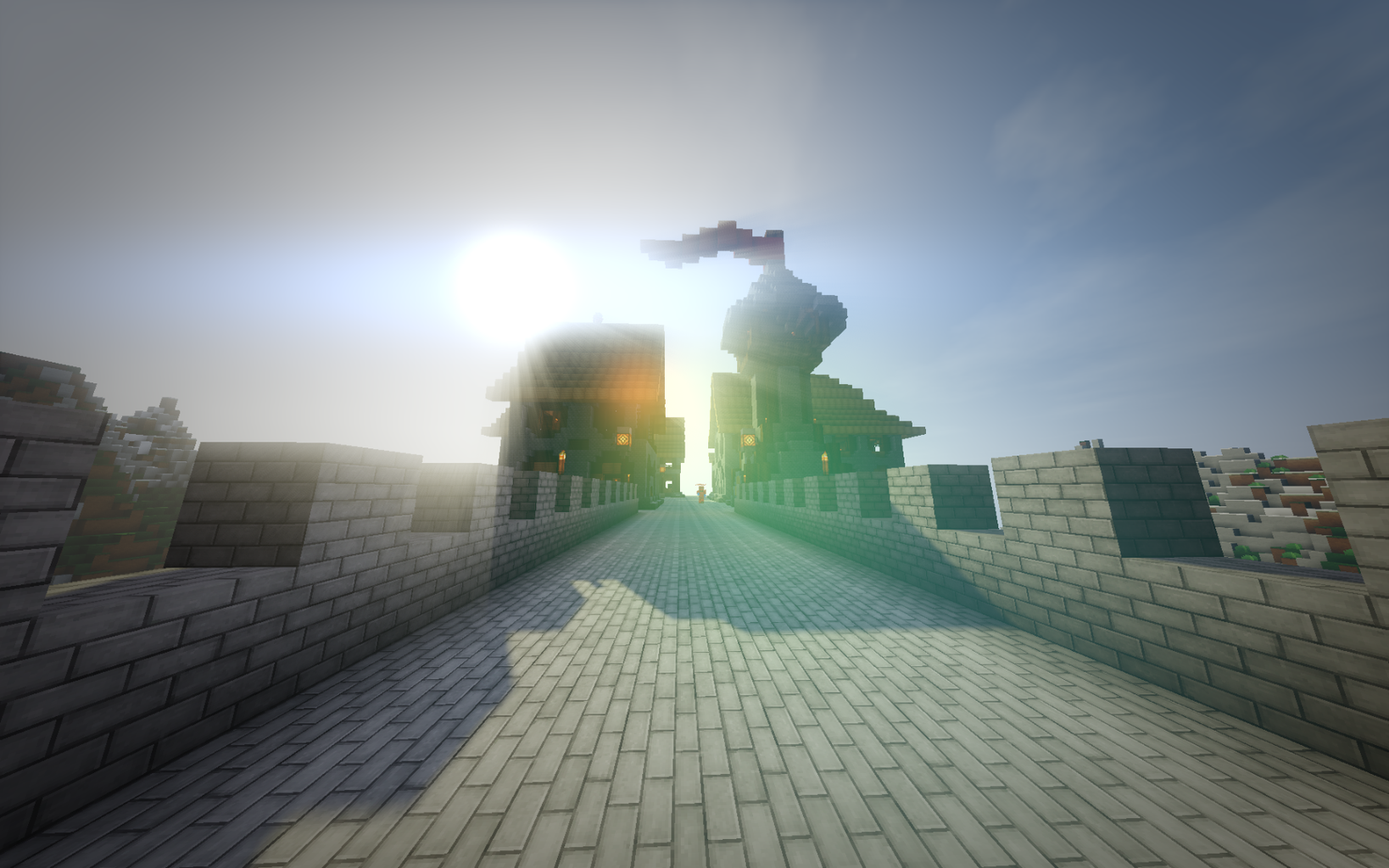 Optifine and Shaders in Action!
