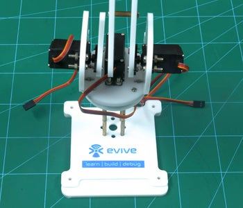 Making the Right Side of the Robotic Arm