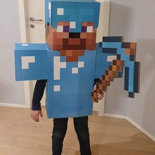 Minecraft Steve Costume