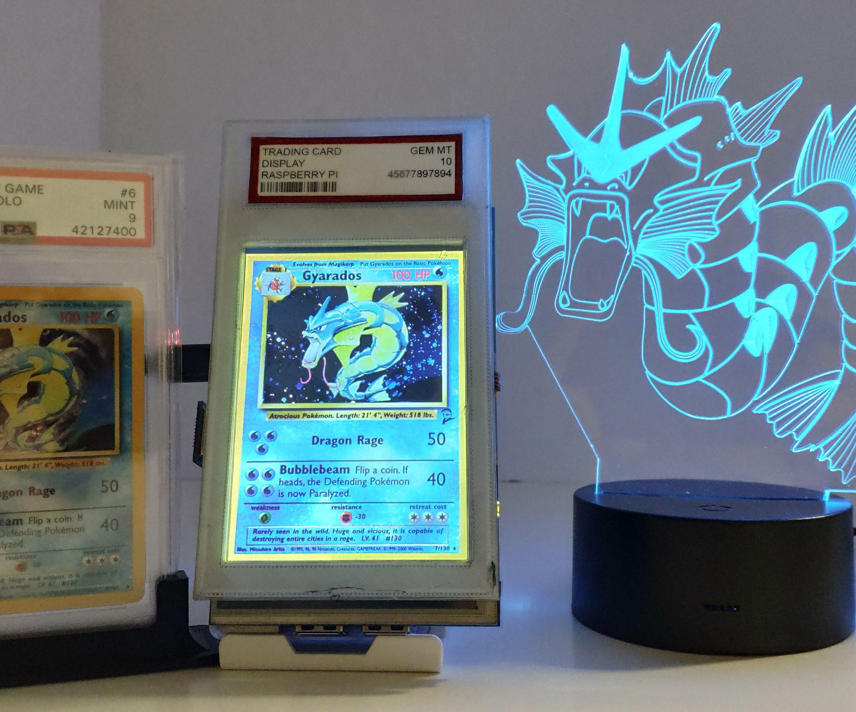 Digital Card Display With Raspberry Pi