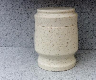 Turning A Corian Container