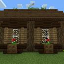 Ventanas decoradas (ladrillo y madera