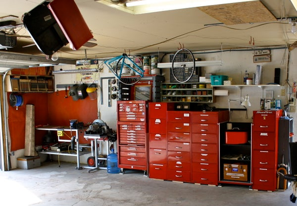 Garage - Workshop - Tools - Reno & Organization