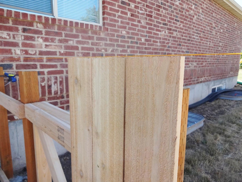 Add Fence Slats