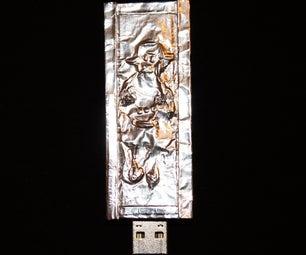 USB Robot in Carbonite