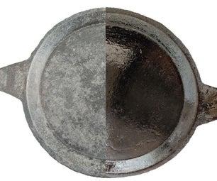 如何在炉子上施加铁炊具