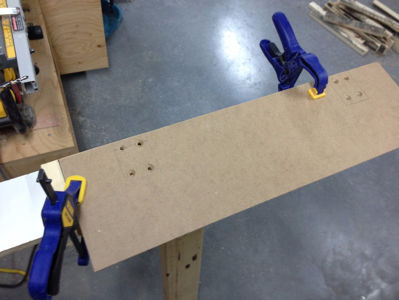 Glue the Plywood Together & Screw the Blocks On