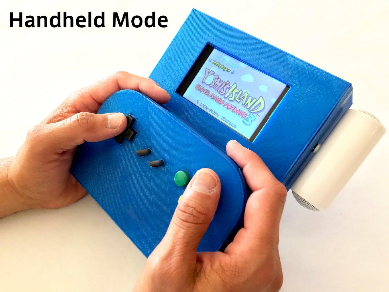 Raspberry Split: a Wireless, Switchable Game System!