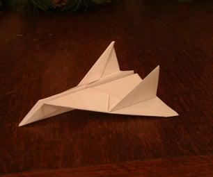 Paper Aeroplane: Thunder Bomber