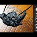 DIY Polymer Clay Game of Thrones Dragon Necklace #4 | Craft of Giving