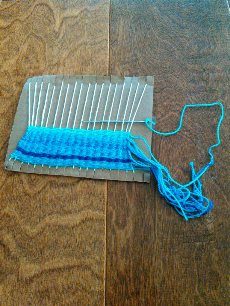 Now the Weaving!