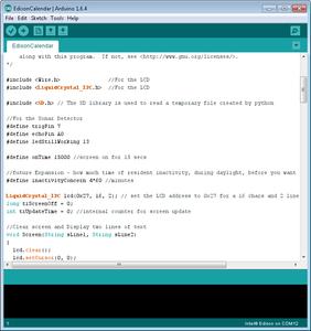 Update the Arduino Code