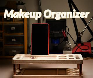 CNC Makeup Organizer