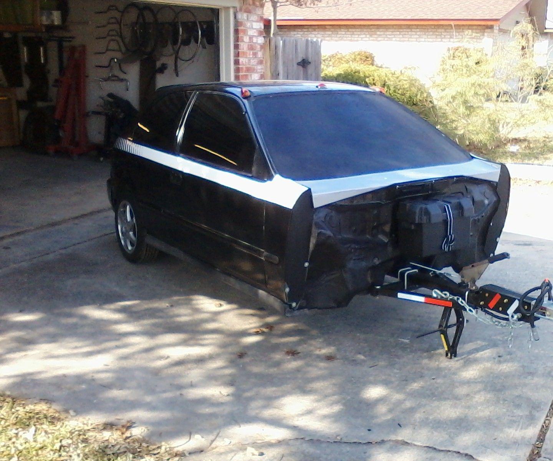 Honda Civic Micro Camper/utility Trailer