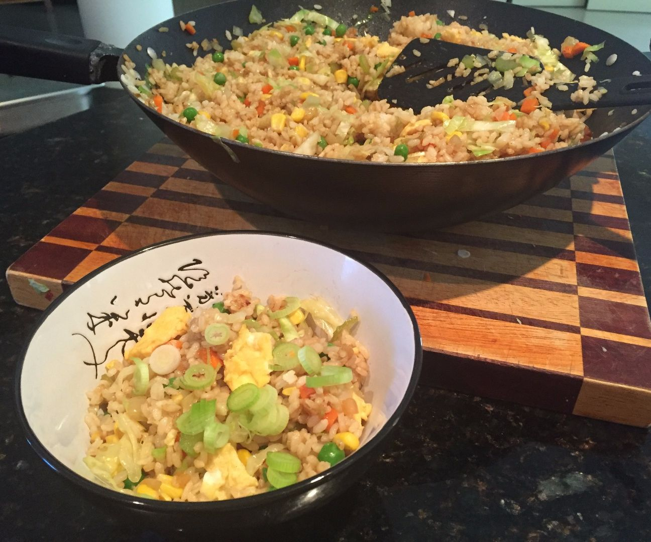 Egg Fried Rice in 15 Minutes
