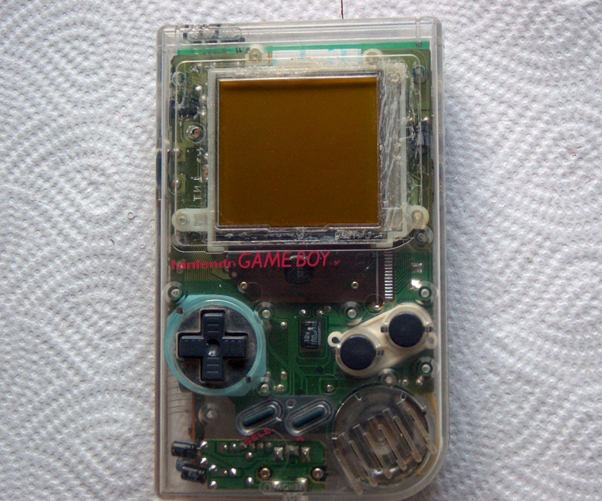 How to repair a broken speaker of an Gameboy DMG