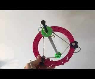 Tensegrity or Double 5R Parallel Robot, 5 Axis (DOF) Inexpensive, Tough, Motion Control