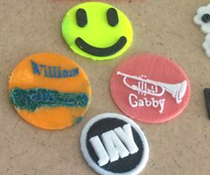 3D Printing Superhero Badges With Elementary Students