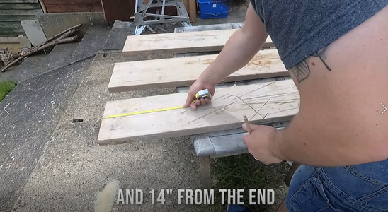 Measure and Cut the Boards