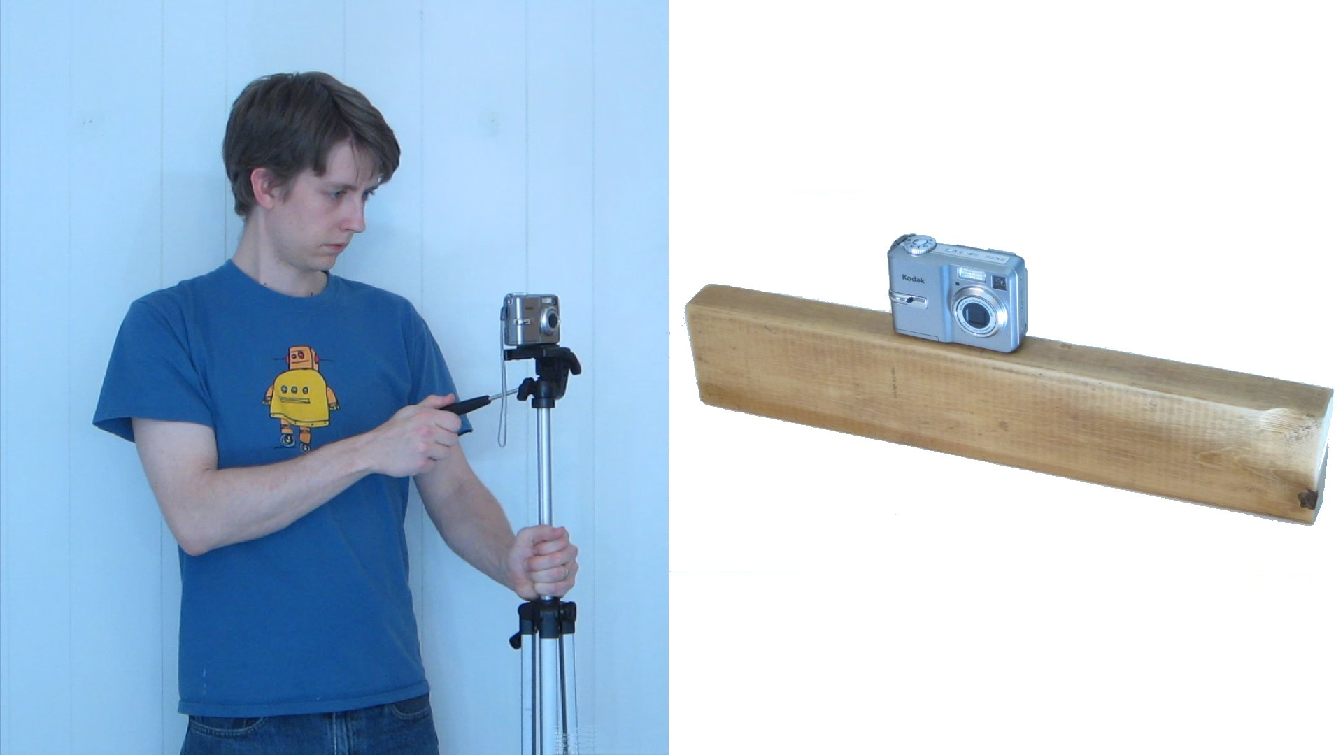 How To Make an Impromptu Camera Stabilizer