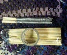 Homemade Cheap Bamboo Splashsticks Drumsticks V2
